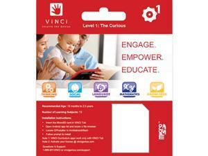 Vinci Lc1000 The Curious Level1 Sd Card For Vinci Tablet