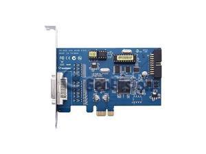 GeoVision GV-600B-4 4 Channel DVR Video Capture Card DVI PCI-E4 /1 Audio 8.55/30fps