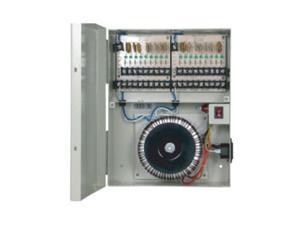 BV Tech Power Box with 18 Port PTC Output, 24VAC/12A for Surveillance Security Camera CCTV
