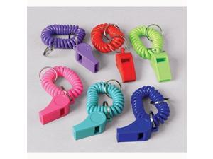 Bracelet Whistle Keychains (12 per package)
