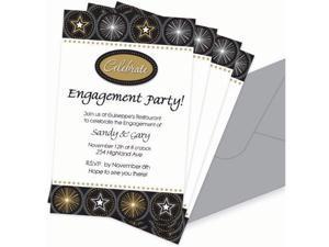 Glitter Staz Imprintable Invitations w/ Add On
