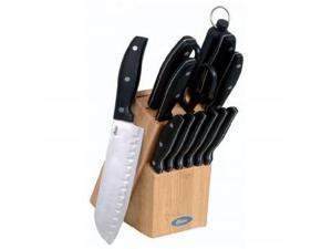 Oster Granger 14-Piece Cutlery Set, Black