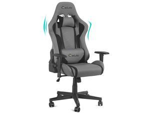 Gaming Chair Racing Style Ergonomic High Back Computer Chair with Height Adjustment, Headrest and Lumbar Support E-Sports Massage Swivel Chair