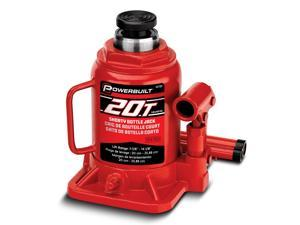 Powerbuilt 20 Ton Shorty Bottle Jack - 647504