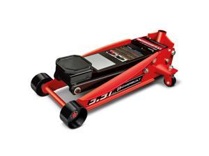 Powerbuilt 3-1/2 Ton Professional Floor Jack, Garage, Heavy Duty - 647530
