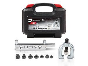 Powerbuilt 9 pc Double Flaring Tool Kit - 648610