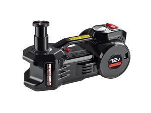 Powerbuilt 2 in 1, 12 Volt Electric Floor Jack and Tire Inflator, 1 Ton,  620484