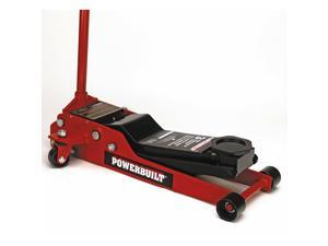 Powerbuilt 3 Ton Heavy Duty Low Profile Floor Jack 3-1/2 in. to 20 in. - 647580