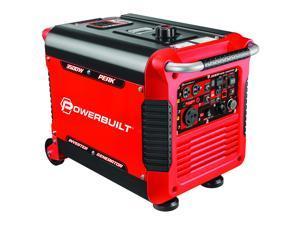 Powerbuilt Inverter Generator 3500 Watts, Super Quiet, Electric Start - 240064