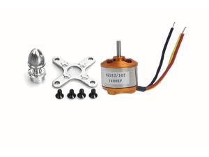 A 2212 A2212 1400KV Brushless Outrunner Motor W/ Mount 10T,RC Aircraft/KKmulticopter 4Axis Quad copter UFO