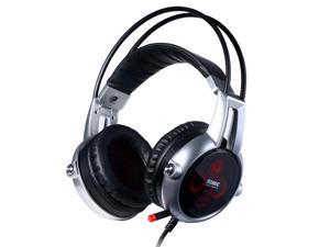 Somic E95X Vibration Computer Headset Noise Isolating Super Bass LED Mic Stereo Headset for Computer FPS Game
