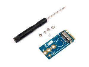 Mini PCI-E to NGFF M.2 M KEY BCM94360CS2 BCM943224PCIEBT2 Wireless Converter Adapter Card for Mac OS Hackintosh A/E Notebook PC