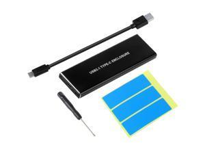 NVMe PCIE USB3.1 HDD Enclosure M.2 to USB Type C 3.1 M KEY SSD Hard Disk Drive Case External Mobile Box