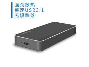 FA-NVME Type-C USB 3.1 NVME HDD SATA Enclosure M.2 PCIE NGFF M Key SSD Aluminum Case Type C Hard Disk Drive External Mobile Box