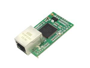 10 Piece USR-TCP232-E Serial Server RS232 RS485 To Ethernet TTL Level DHCP Web Mod