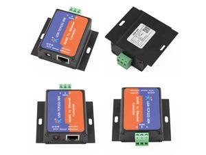 5PCS USR-TCP232-304 Serial RS485 to TCP/IP Ethernet Server Converter Module with Built-in Webpage DHCP/DNS Supported