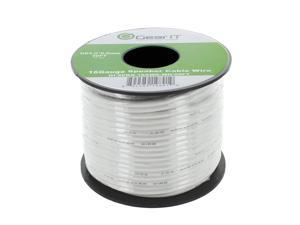 16 Gauge Speaker Wire, GearIT 500 ft 16AWG for Home Theater / Car Audio / Outdoor Installation High Quality Speaker Wires, White