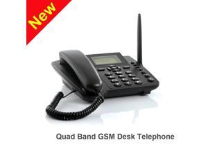 Wireless GSM Desk Phone - Desktop Style Phone with SIM Card Slot by The Emperor of Gadgets®