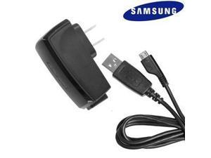 OEM Samsung Micro USB Travel Charger w/Detachable USB Cable (ETA0U20JBE & ECCIDU2BBE)