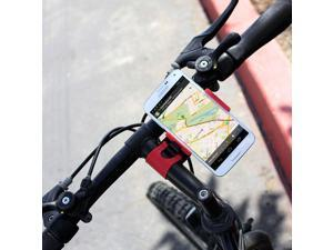 Vice Grip Bicycle Mount Phone Holder For Samsung SPH-A560 - Black/Red