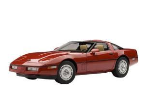 1986 Chevrolet Corvette in RED in 1:18 Scale By Autoart