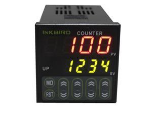 Inkbird Digital Preset Scale Counter Tact Switch Scaler Register Relay 100-240V,CE Certificate Approved