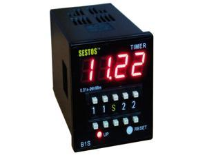 Sestos Coded Switch Digital Timer with Omron Relay Output CE Approved 110-220V B1S-R-220