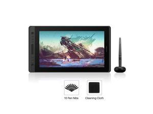 Huion Pro 16 Drawing Tablets with Screen 15.6 Inch Pen Display Graphic Monitor, Battery-Free Pen with 8192 Levels Pressure, 1 Touch Bar and 6 Express Keys(No Stand)