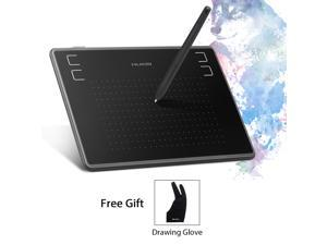 Huion Inspiroy H430P Graphics Drawing Tablet 4.8 x 3 inches with Battery-Free Pen Recognize 4096 Pen Pressure with a Glove