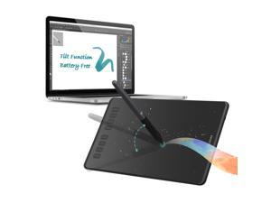 Huion INSPIROY Q11K V2 Wireless Digital Graphics Drawing Pen Painting  Tablet with Tilt Feature Battery-free Stylus 8192 Levels of Pressure 8  Express