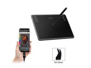 Huion H430P Digital Graphics Tablets OSU! Drawing Tablet with 4096 Battery-Free Stylus and 4 Express Keys, Ideal Use for Distance Education and Wed Conference