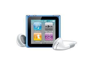 iPod Nano 6th Generation-8GB - Blue - Very Good