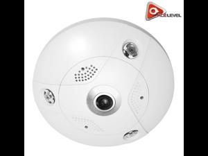 LTS Platinum Network Fisheye IP Camera, 6.3MP (Outdoor) - CMIP7562F-E