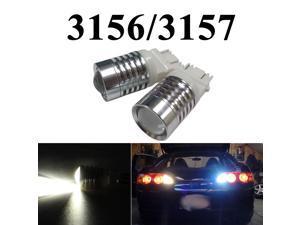 IG Tuning 3156/3157 T25 5W CREE Q3 Chip LED Super Bright - Xenon Pure White Car Signal, Reverse Light Lamp Bulbs