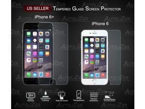 """iPhone 6 Plus / 6+ 5.5 inch 5.5"""" Tempered Glass Screen Protector Ultra Transparency, 8-9 H Hardness, Extreme Sensitivity Touch, Anti-smudge, Bubble-Free"""