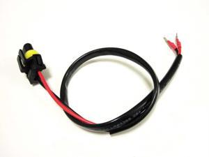 1 PCS H1/H3/H7 Wire Harness for HID ballast to socket for HID Conversion Kit by Autolizer