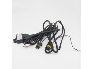 H13 9008 Relay Wiring Harness for Bi-Xenon HID Xenon Kit by Autolizer