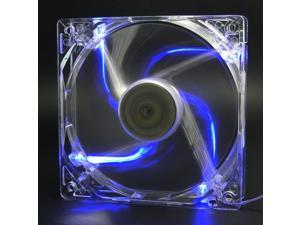 Autolizer 120mm 12cm Blue LED Cooling Fan for Computer PC Cases, CPU Coolers, and Radiators