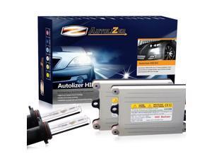 Autolizer H13/9008 6K 55W HID Xenon Conversion Kit Hi/Low Beam For Headlights or Fog Lights - 6000K Pure Diamond White