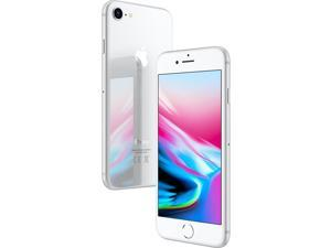 "Apple iPhone 8 64GB Silver GSM Unlocked 4.7"" Display Smartphone"