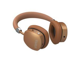 Sharkk Aura Wireless Bluetooth Headphones Gold On - Ear Headset Advanced Bluetooth 4.0 Technology with 18 Hour Battery Life