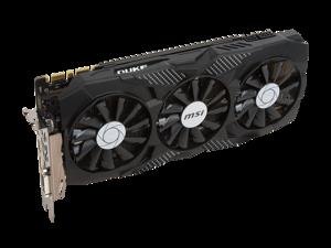 MSI NVIDIA GeForce GTX 1070 Ti DUKE 8GB GDDR5 (GTX1070TiDUKE8G) Graphics Card