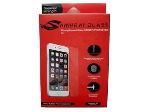 Samurai Tempered Glass Screen Protector Bubble Free For iPhone 6 / 6S / 7 / 8 Plus 2 Pack