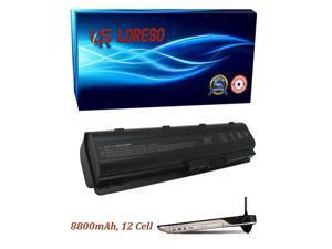 Laptop Battery HP Pavilion dv7t-6b00 dv7t-6c00 G4-1000 g4-1001tx g4-1002tu g4-1002tx g4-1003tu (Loreso Replacement Part) - 8800mAh, 12 Cell