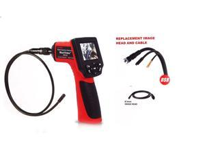 "Autel Maxivideo MV208 Multipurpose Digital Videoscope with 8.5mm Diameter Imager Head 2.4 "" High Resolution Full Color LCD Display (320x240)"