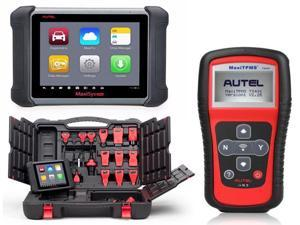 AUTEL MaxiSYS MS906 Android 4.0 OBDII Full System Auto Diagnostic Scanner with MaxiTPMS TS401 TPMS Diagnostic & Service ...