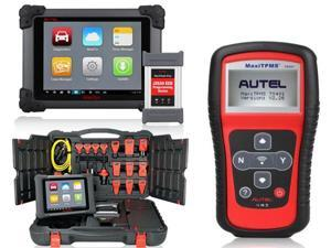 Autel MaxiSYS Elite Automotive Diagnostic & ECU Coding Programming System 2 years free online update with BMW Ethernet Cable + Autel MaxiTPMS TS401 TPMS Diagnostic & Service Tool