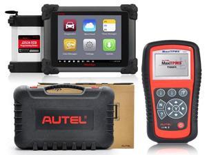 Autel MaxiSys Pro MS908P OBD Full System Diagnostic / ECU Coding System with J2534 ECU reprogramming Box/VCI Model + Free ...