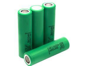 4 pcs Samsung INR18650 25R 18650 2500mAh 3.7v High Drain Discharge Batteries