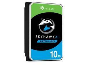 """Seagate SkyHawk AI ST10000VE0008 10TB 7200 RPM 256MB Cache SATA 6.0Gb/s 3.5"""" Internal Hard Drive Bare Drive"""